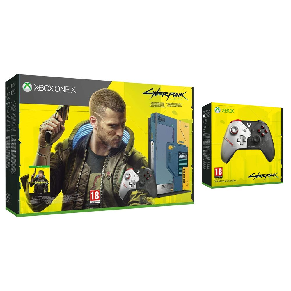 Xbox One X 1TB Cyberpunk 2077 Limited Edition with Controller £599 at Go2Games