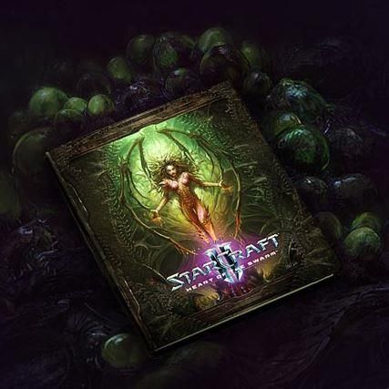 Starcraft II: Heart of the Swarm - Collector's Edition - Art Book