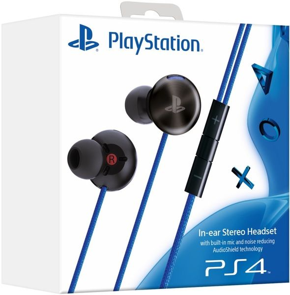 PlayStation 4 In-Ear Stereo Headset (PS Vita/PS4)