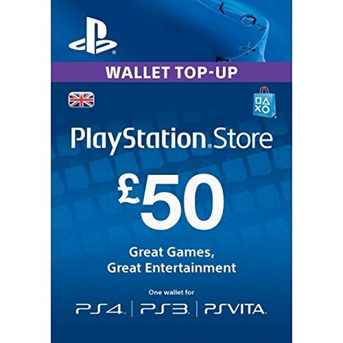 PlayStation Store £50 Gift Card
