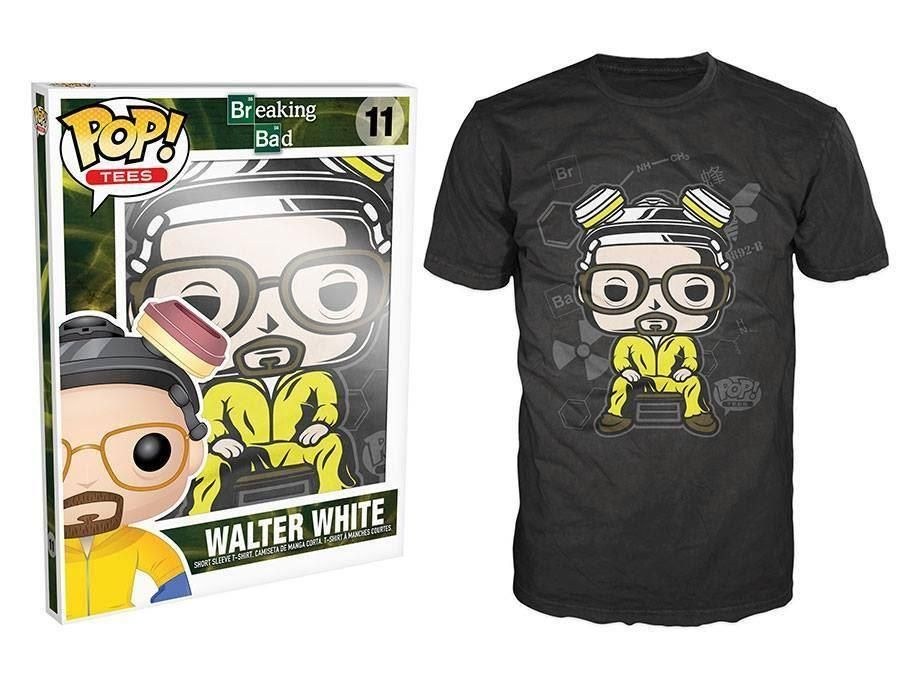 Funko POP! Tees: Breaking Bad - Walter T-Shirt (L)