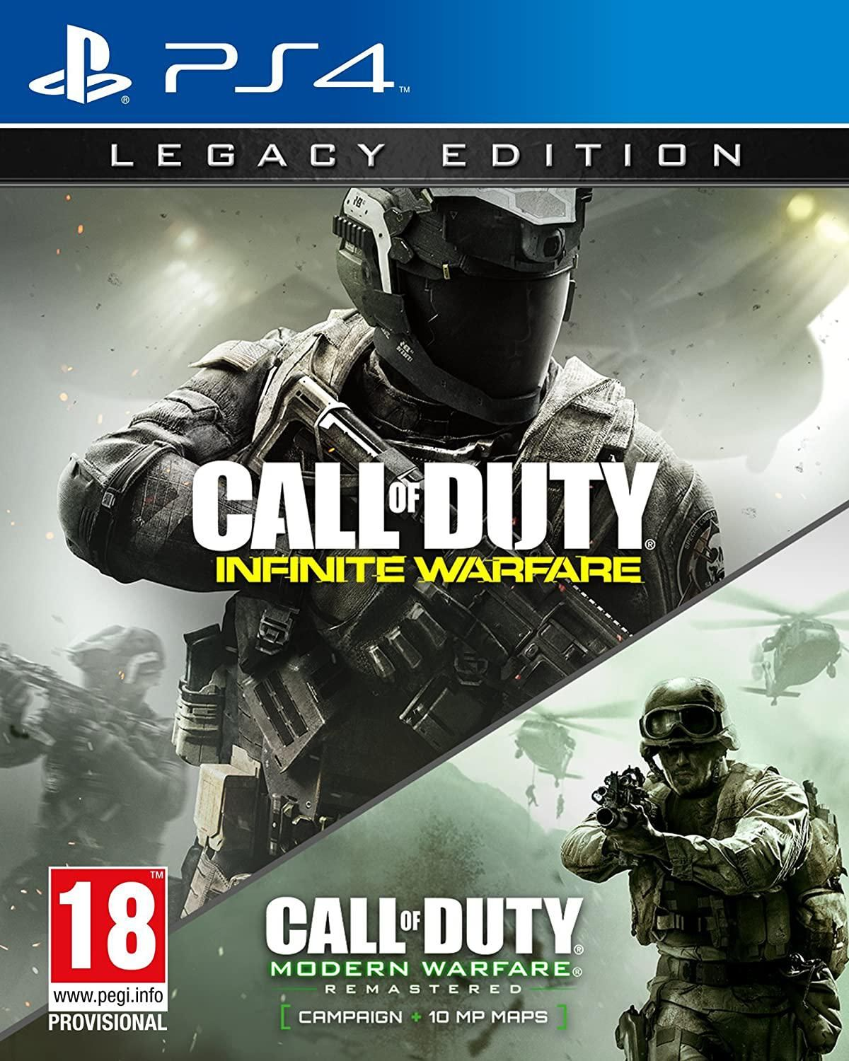 Call of Duty: Infinite Warfare - Legacy Edition (PS4) - COD MWR Expired