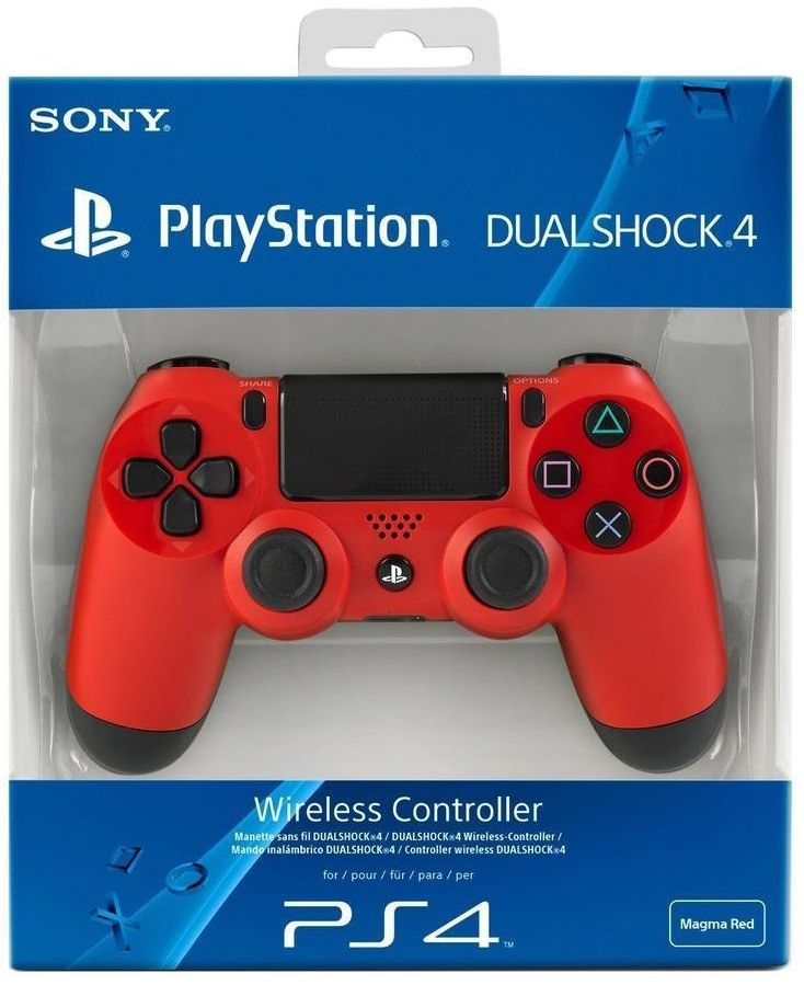 PlayStation 4 Red Controller (PS4)