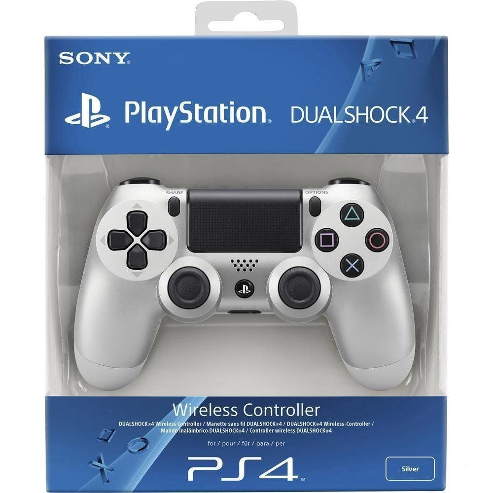 PlayStation 4 Silver Controller (PS4)