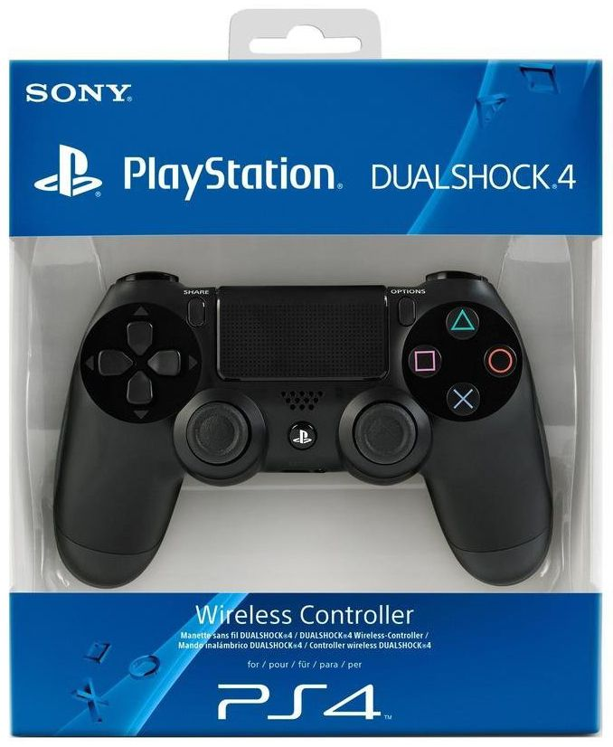 Playstation 4 Black Controller (PS4)