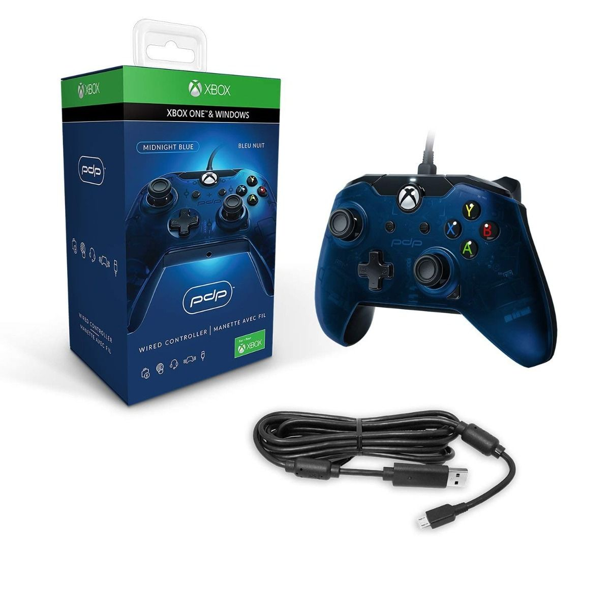 PDP Blue Wired Controller (Xbox One)