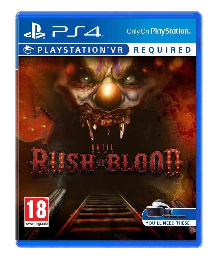 Until Dawn: Rush of Blood (PS4/PSVR)