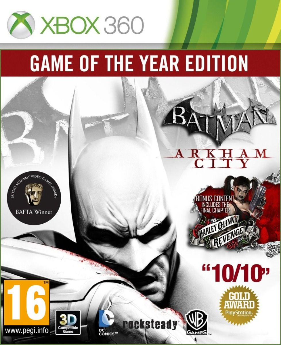 Batman: Arkham City - Game of the Year (Xbox 360)
