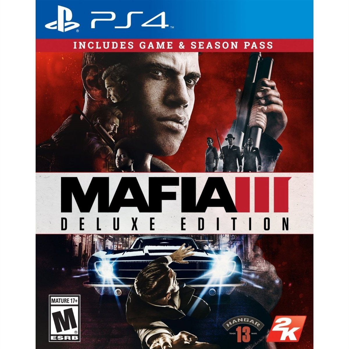 Mafia 3 Deluxe Edition (PS4)