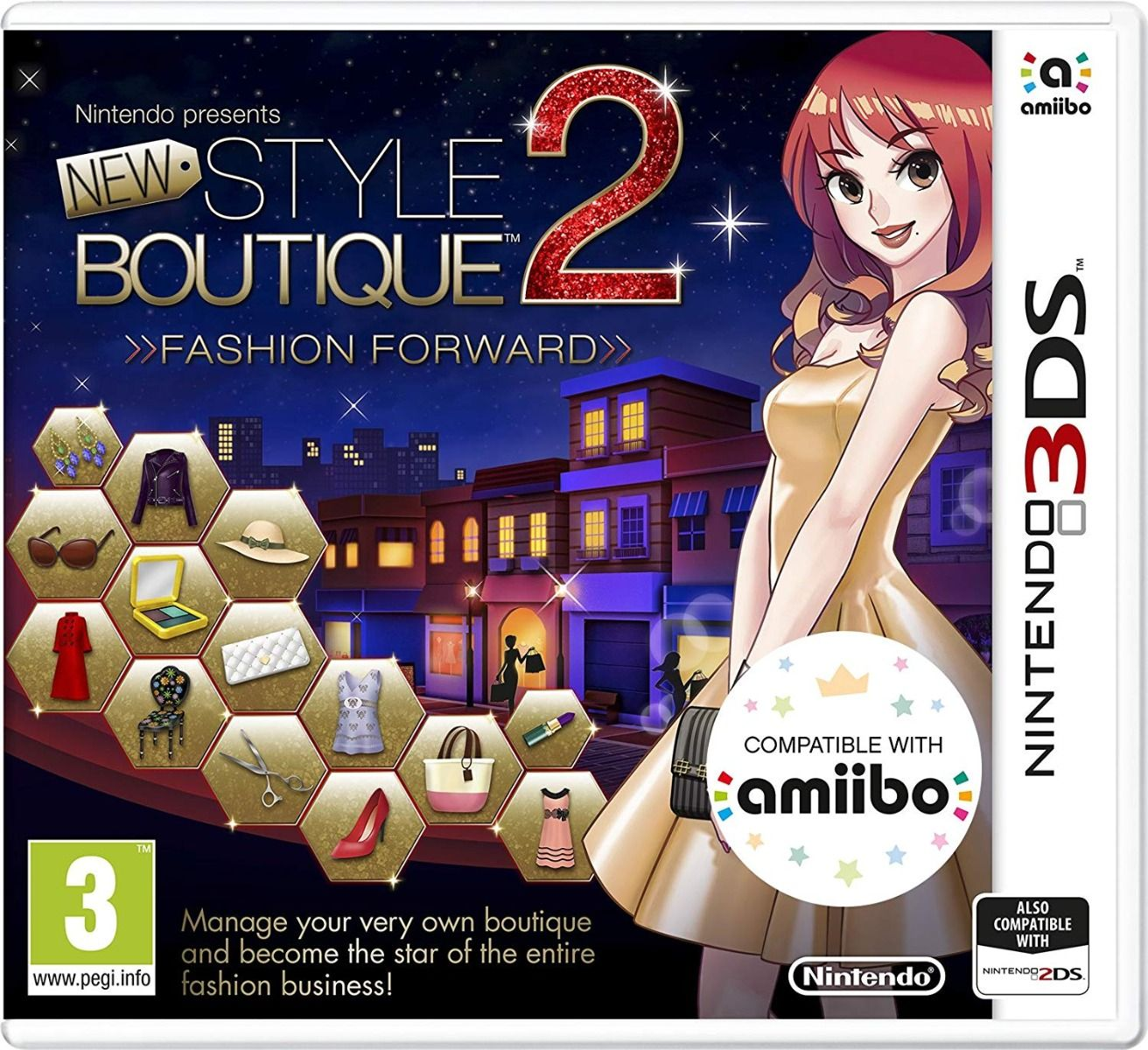 New Style Boutique 2: Fashion Forward (Nintendo 3DS)
