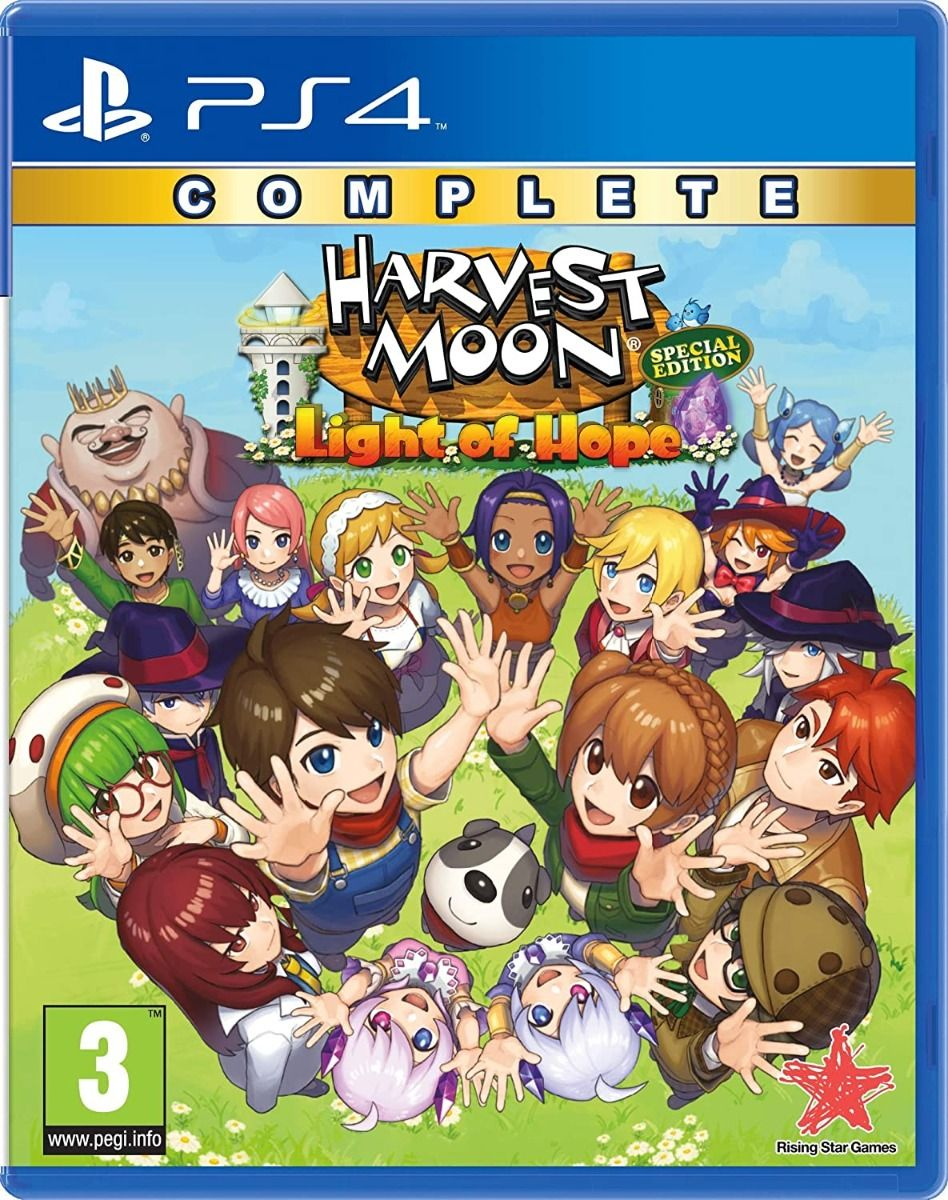 Harvest Moon - Light of Hope Complete Special Edition (PS4)