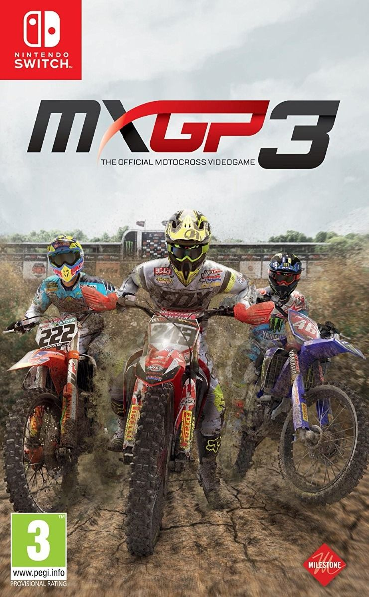 MXGP3 - The Official Motocross Videogame (Nintendo Switch)