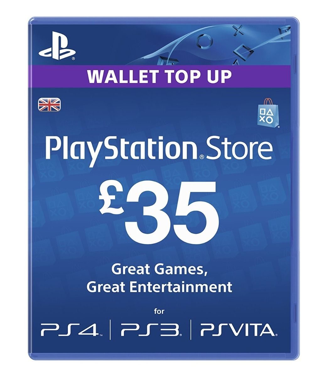 PlayStation Store £35 Gift Card