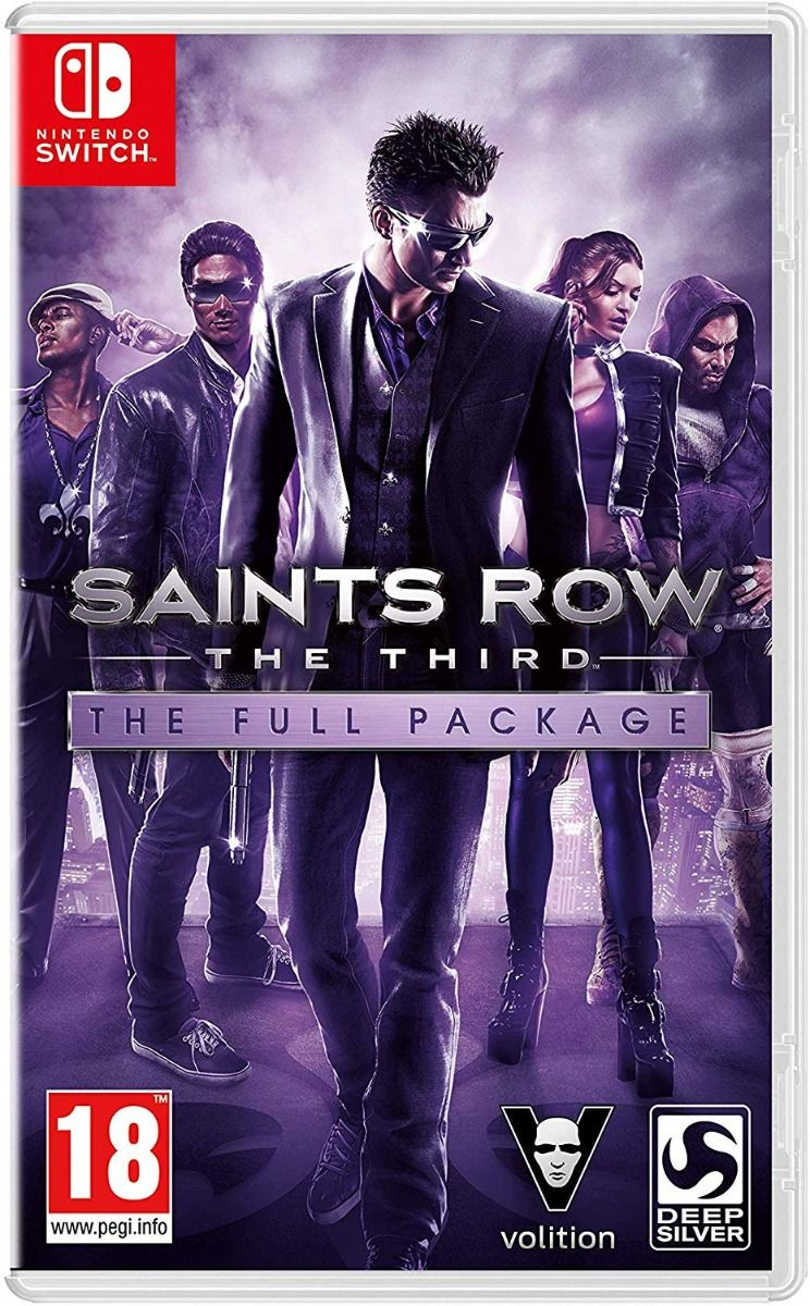 Saints Row The Third The Full Package (Nintendo Switch)