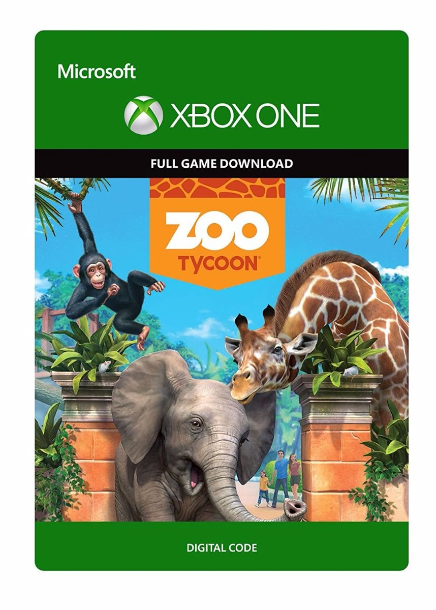 Zoo Tycoon - Full Game Download Code (Xbox One)