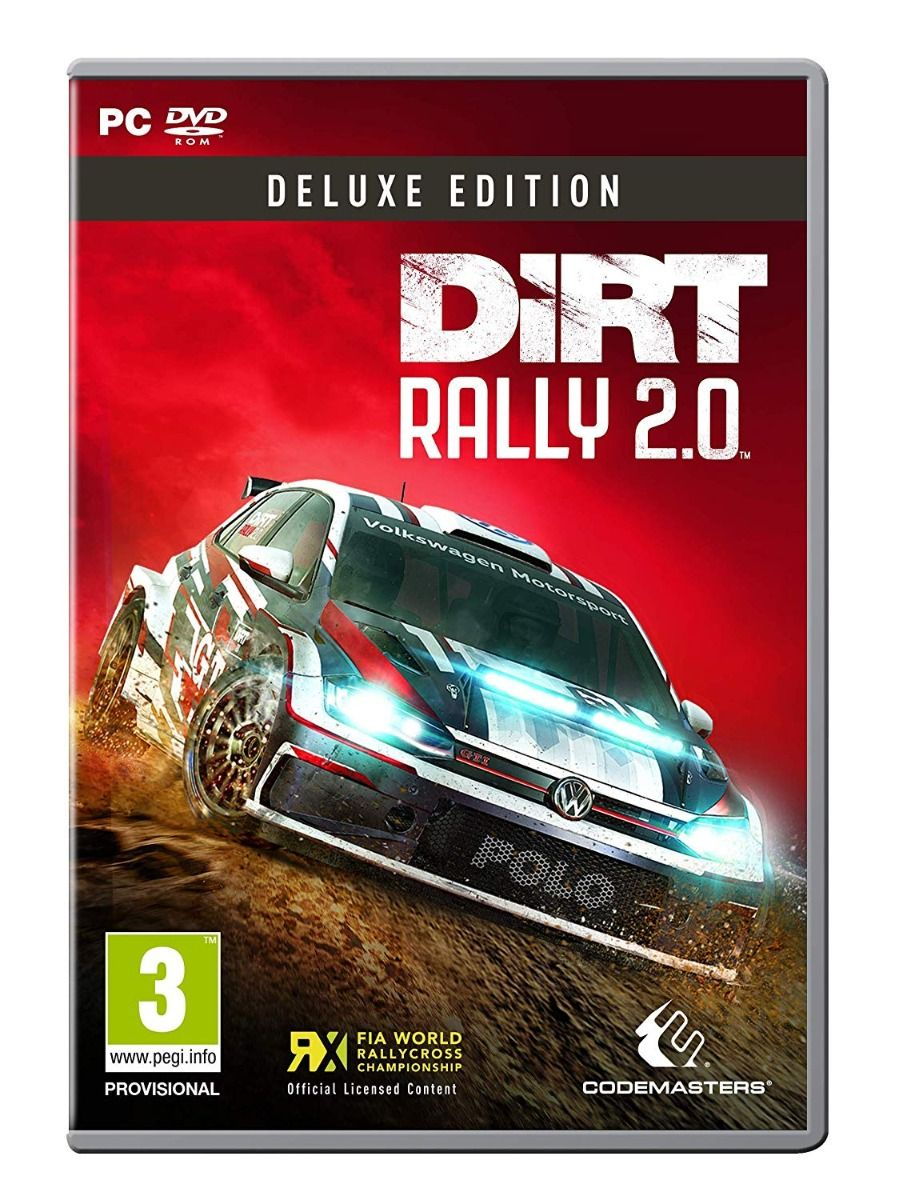 DiRT Rally 2.0 Deluxe Edition PC DVD (PC)