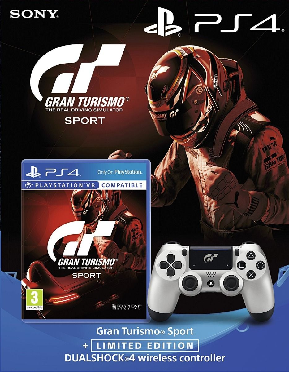 Gran Turismo Sport + Limited Edition Controller (PS4)