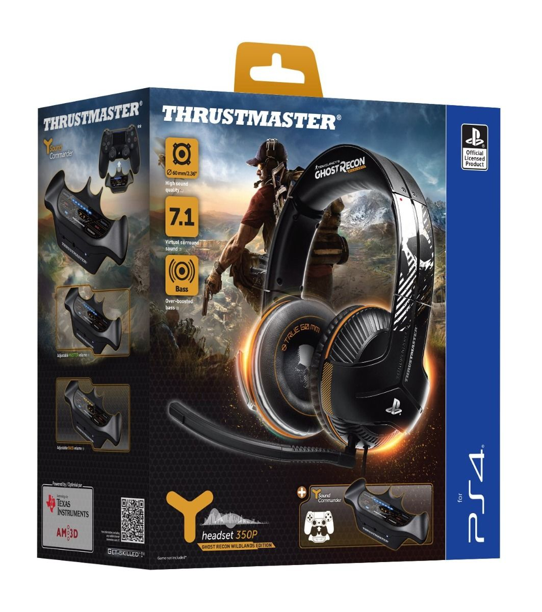 Thrustmaster Y-350P Ghost Recon Wildlands Edition Gaming Headset (PS4)