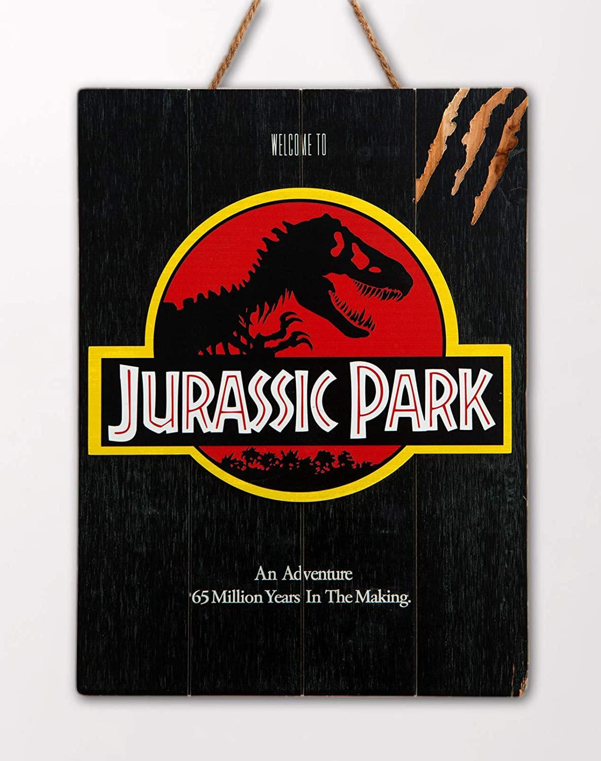 Jurrassic Park Welcome To Jurrassic Park WoodArts 3D Print