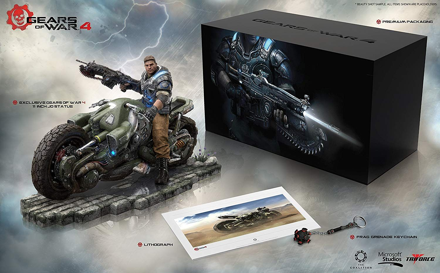 Gears of War 4 Collector's Edition (Game NOT INCLUDED) (Xbox One)