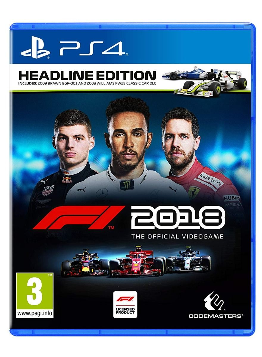 F1 2018 Headline Edition (PS4)