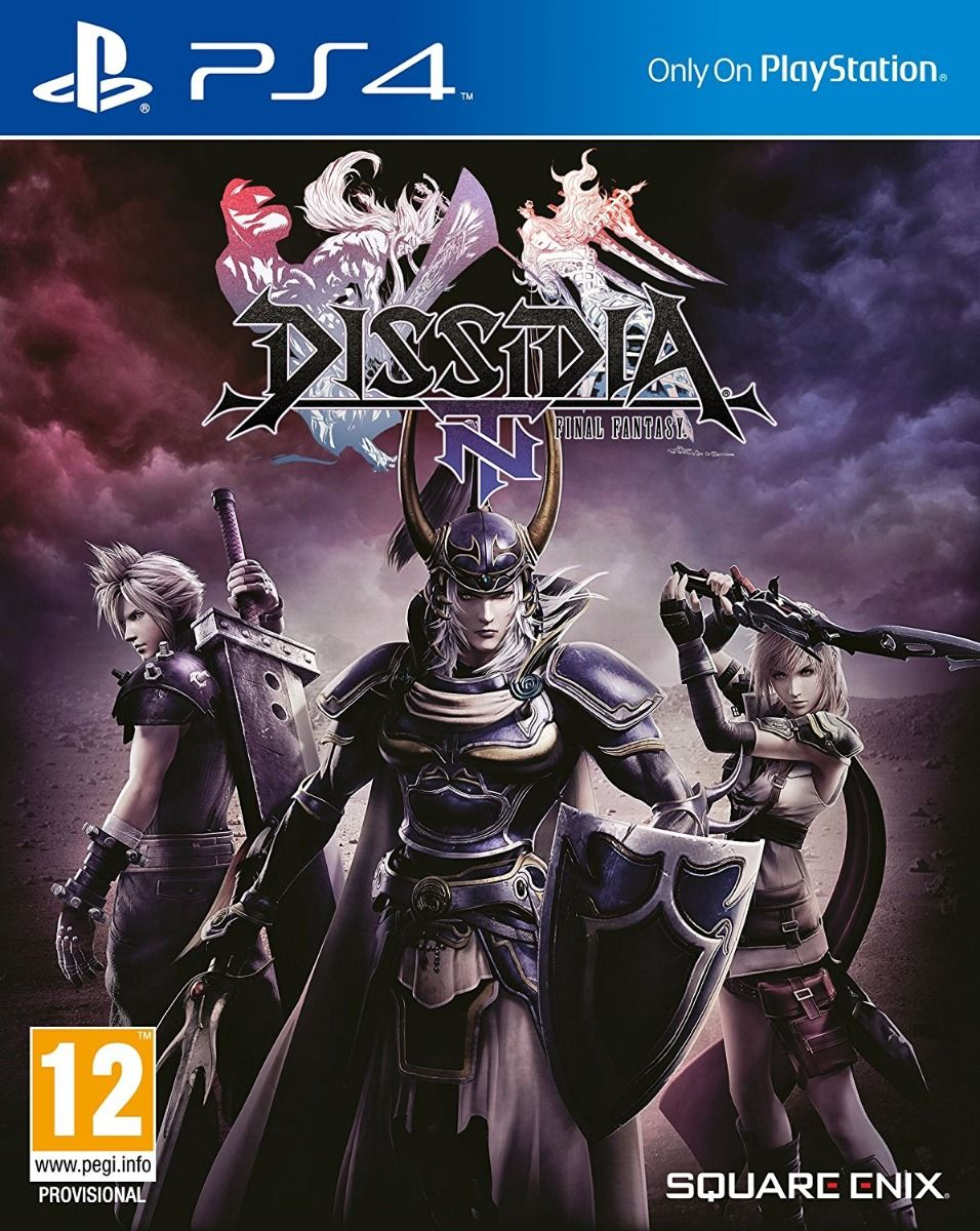 Dissidia Final Fantasy NT + Thumb Grips (PS4)