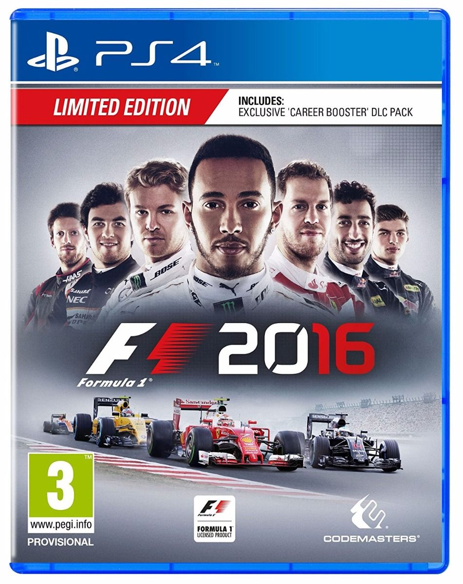 F1 2016 Limited Edition (PS4)