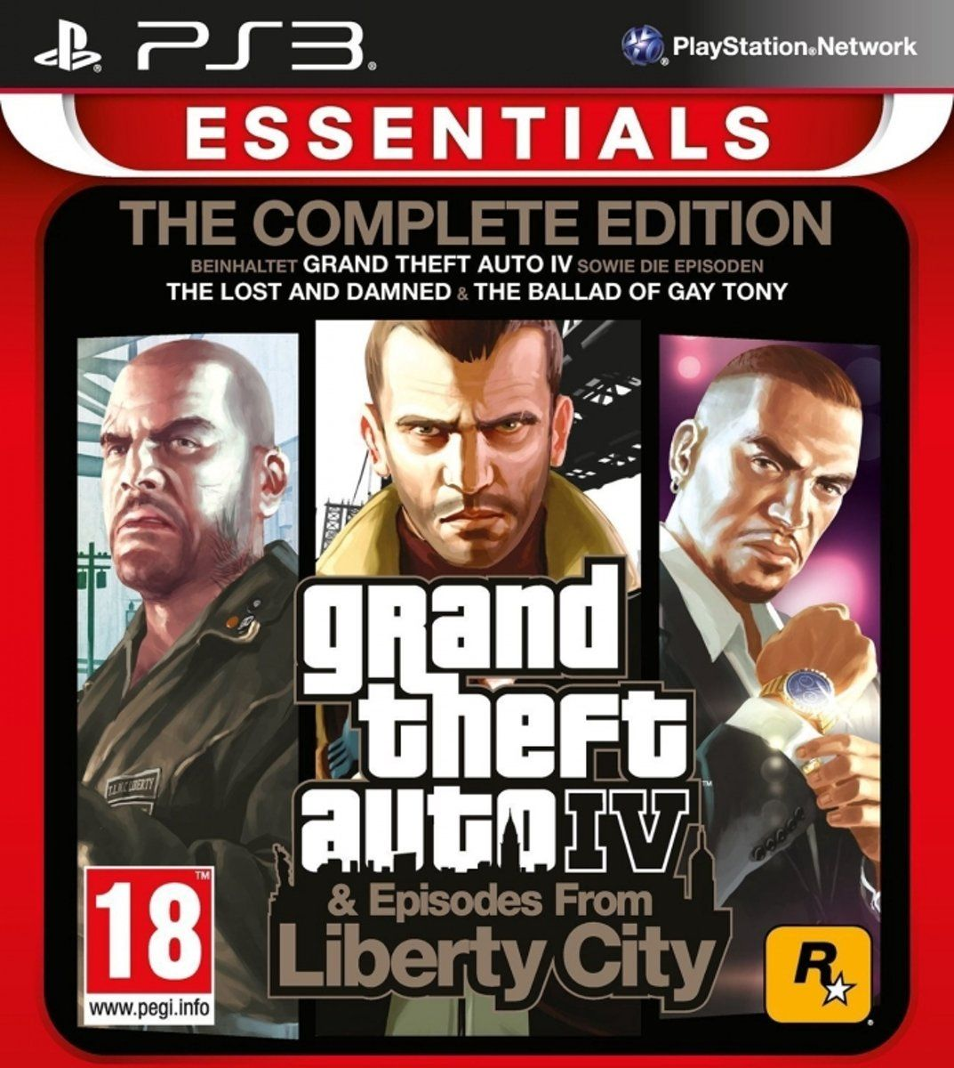 Grand Theft Auto 4 Complete: Episodes from Liberty City (PS3)