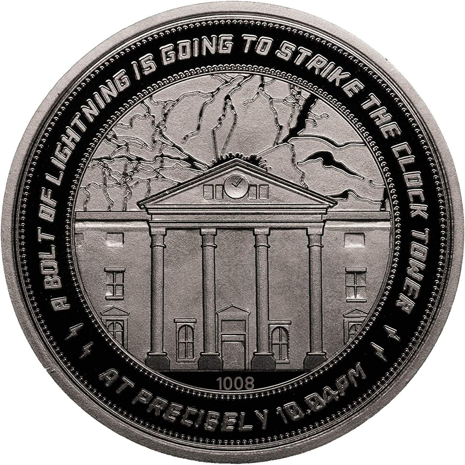 Back to the Future Clocktower Collectors Edition Coin