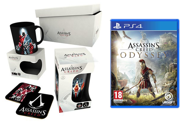 Assassin's Creed Odyssey + Gift Box (PS4)