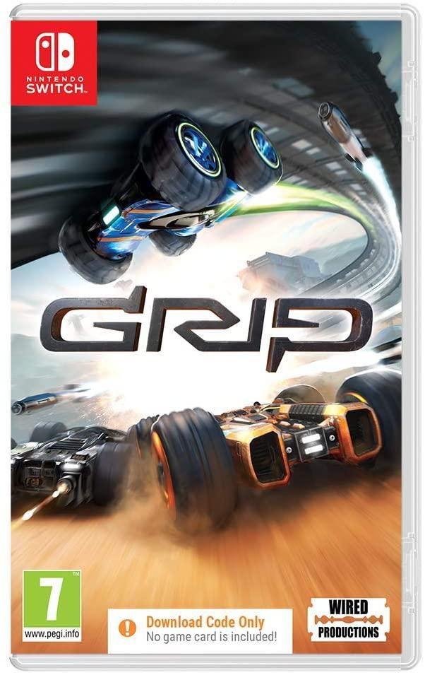 GRIP Combat Racing (Code in a Box) (Nintendo Switch)