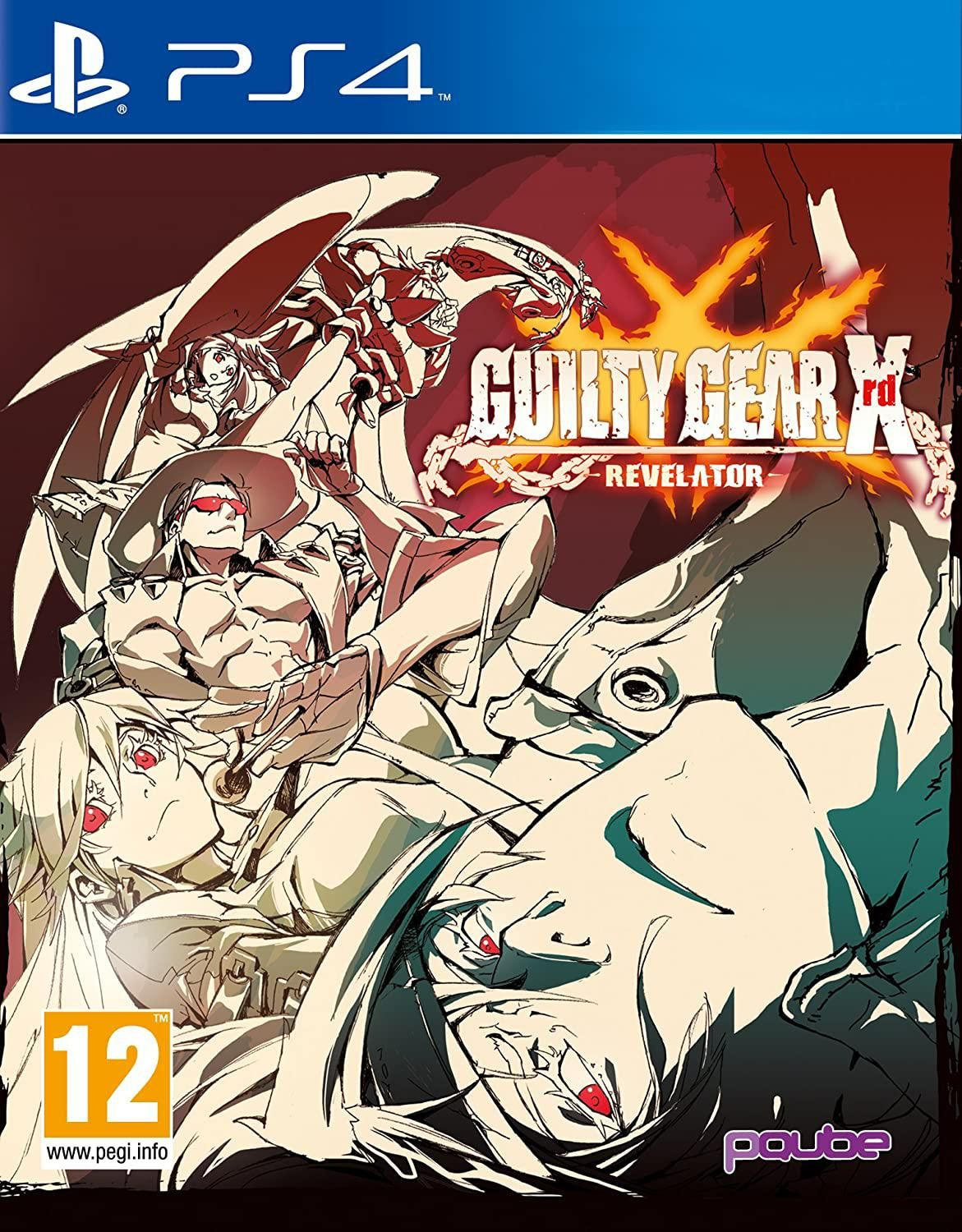 Guilty Gear XRD - Revelator (PS4)