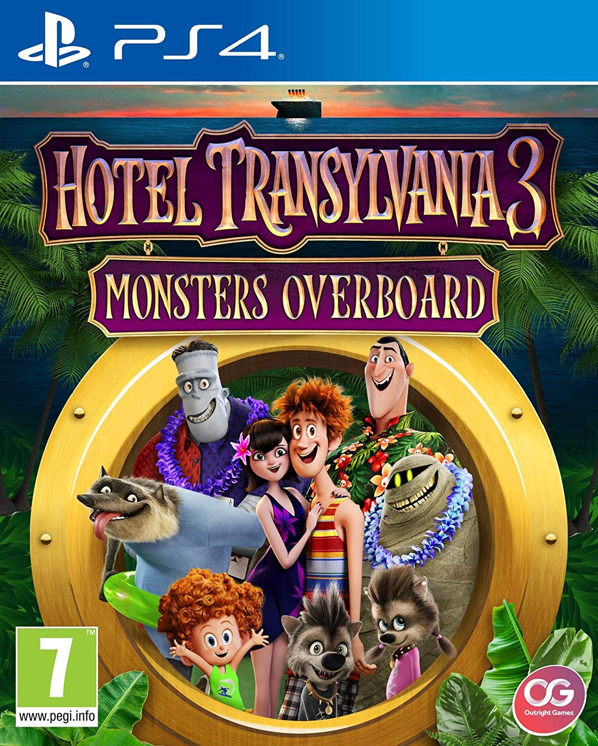 Hotel Transylvania 3 Monster Overboard (PS4)