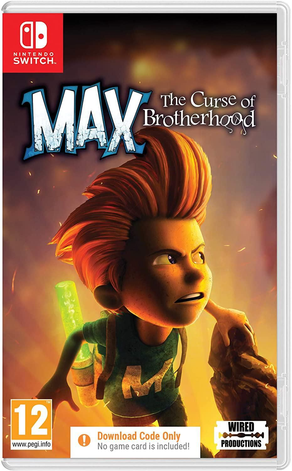 Max: The Curse of Brotherhood (Code in a Box) (Nintendo Switch)