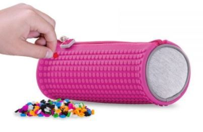 Pixie Crew Rounded Pencil Case, Pink