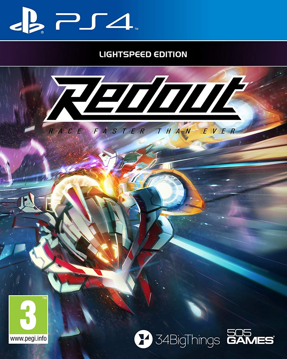 Redout Lightspeed Edition (PS4)
