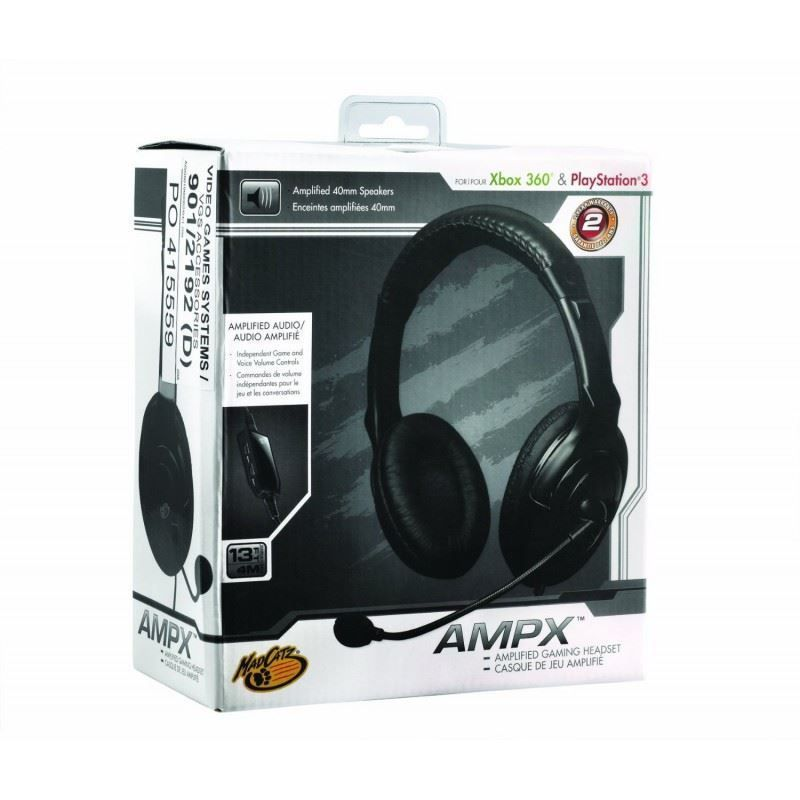 Mad Catz AMPX 40mm Stereo Headset (Xbox 360/PS3)
