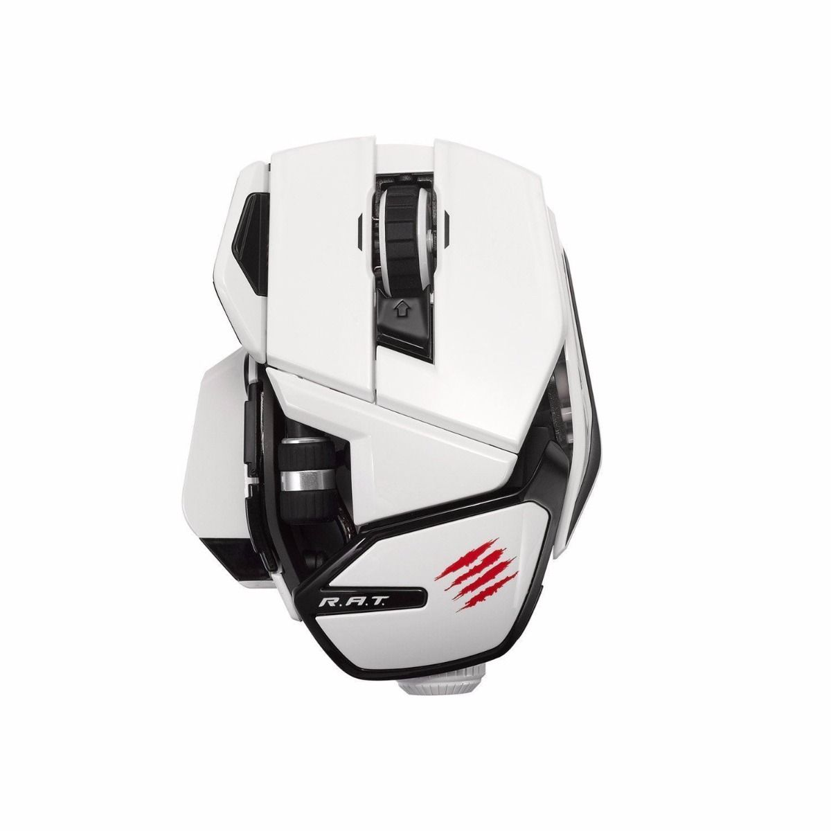 Mad Catz RAT Wireless Mouse - White (PC)