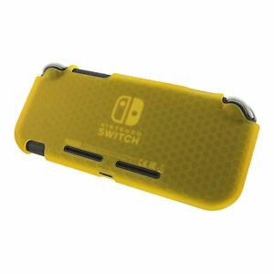 ZedLabz Switch Lite Premium TPU Flexi Gel Protective Case - Yellow (Nintendo Switch)