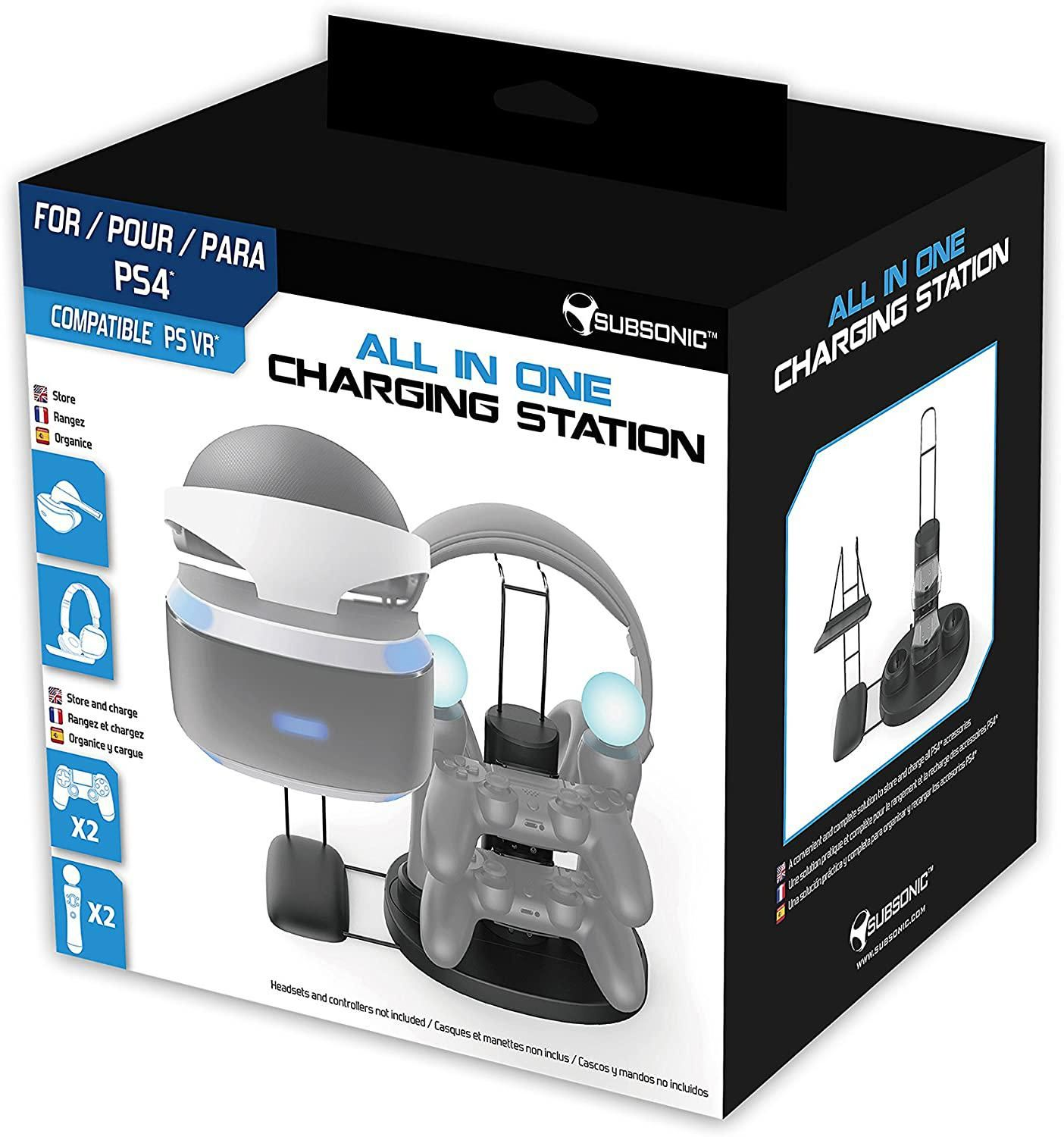 Subsonic - Stand and Charging Station (PS4)