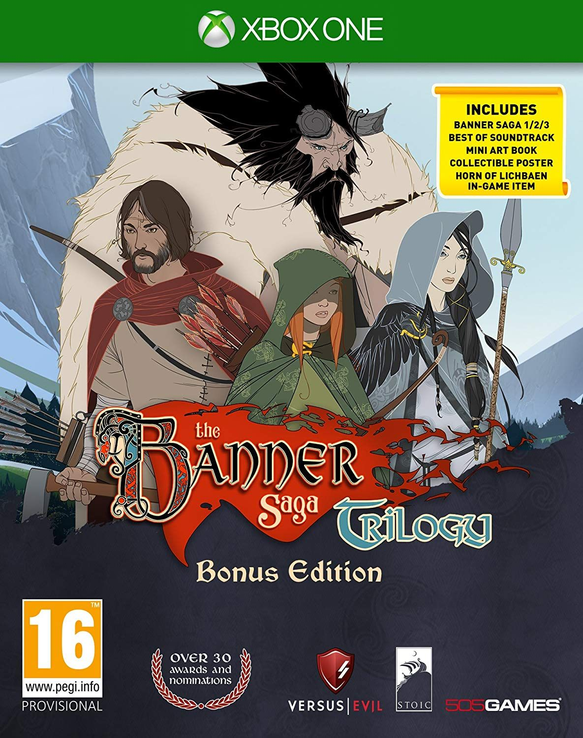 The Banner Saga Trilogy Be (Xbox One)
