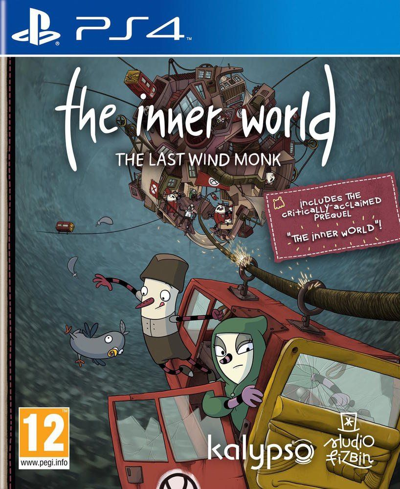 The Inner World The Last Wind Monk (PS4)
