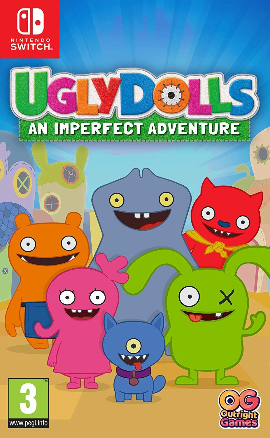 Ugly Dolls An Imperfect Adventure (Nintendo Switch)