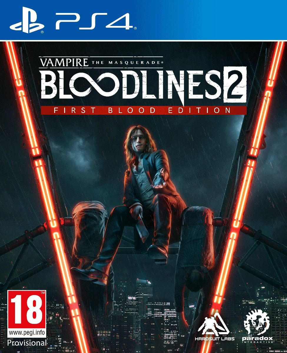 Vampire The Masquerade Bloodlines 2 First Blood Edition (PS4)