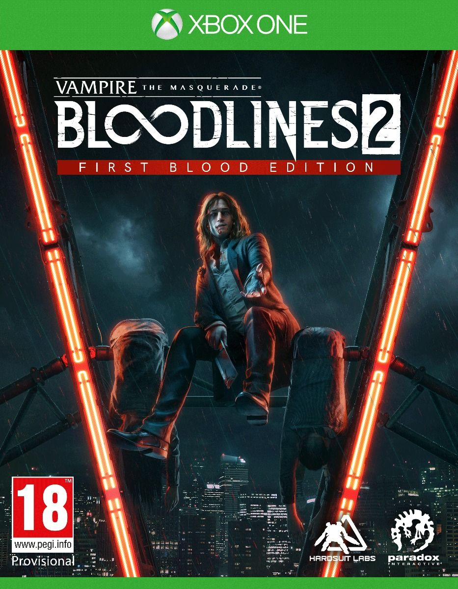 Vampire The Masquerade Bloodlines 2 First Blood Edition  (Xbox One)