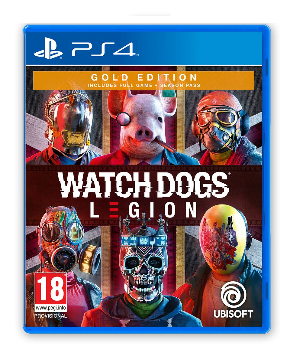 Watch Dogs Legion Gold Edition (PS4)