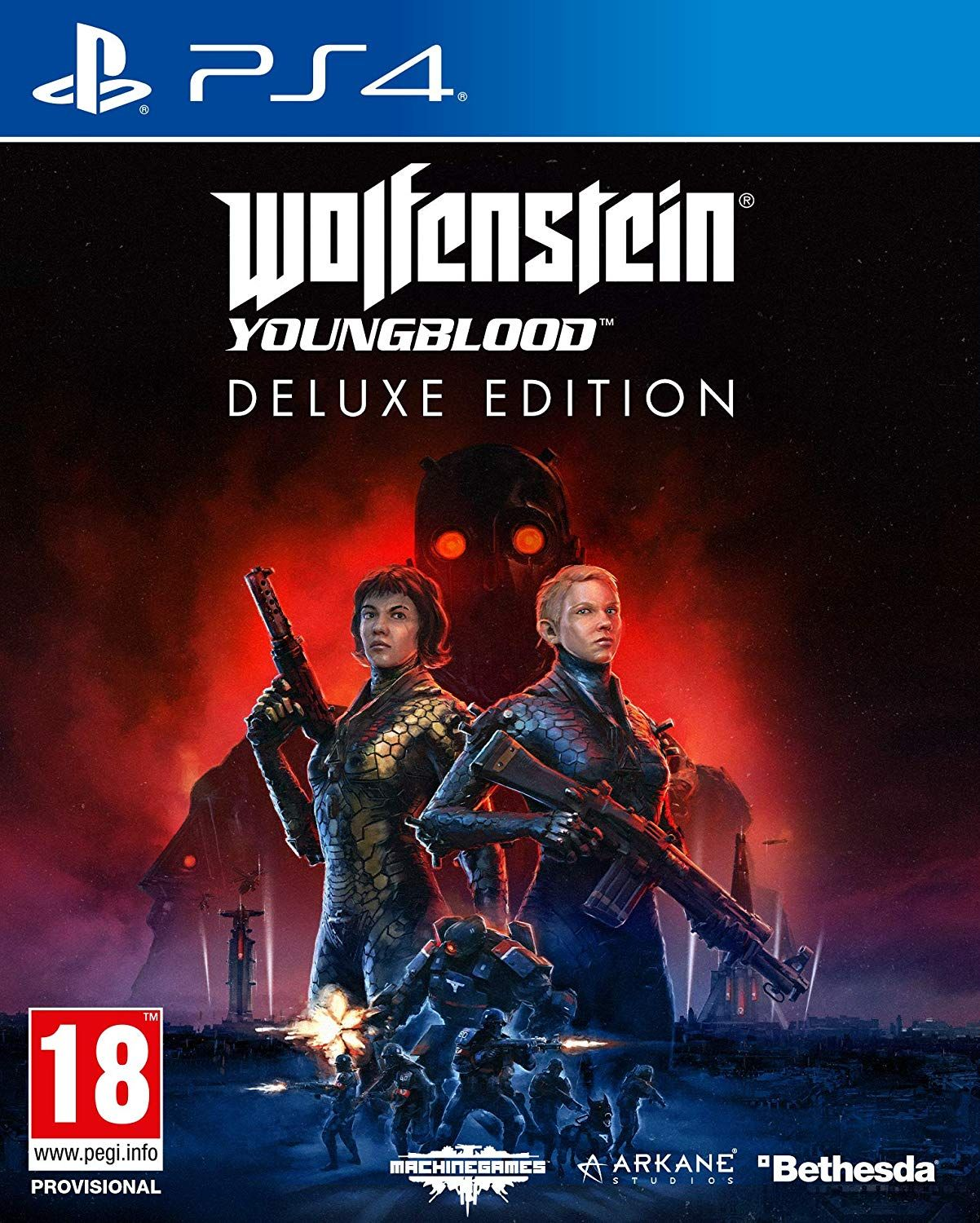 Wolfenstein Youngblood Deluxe (PS4)