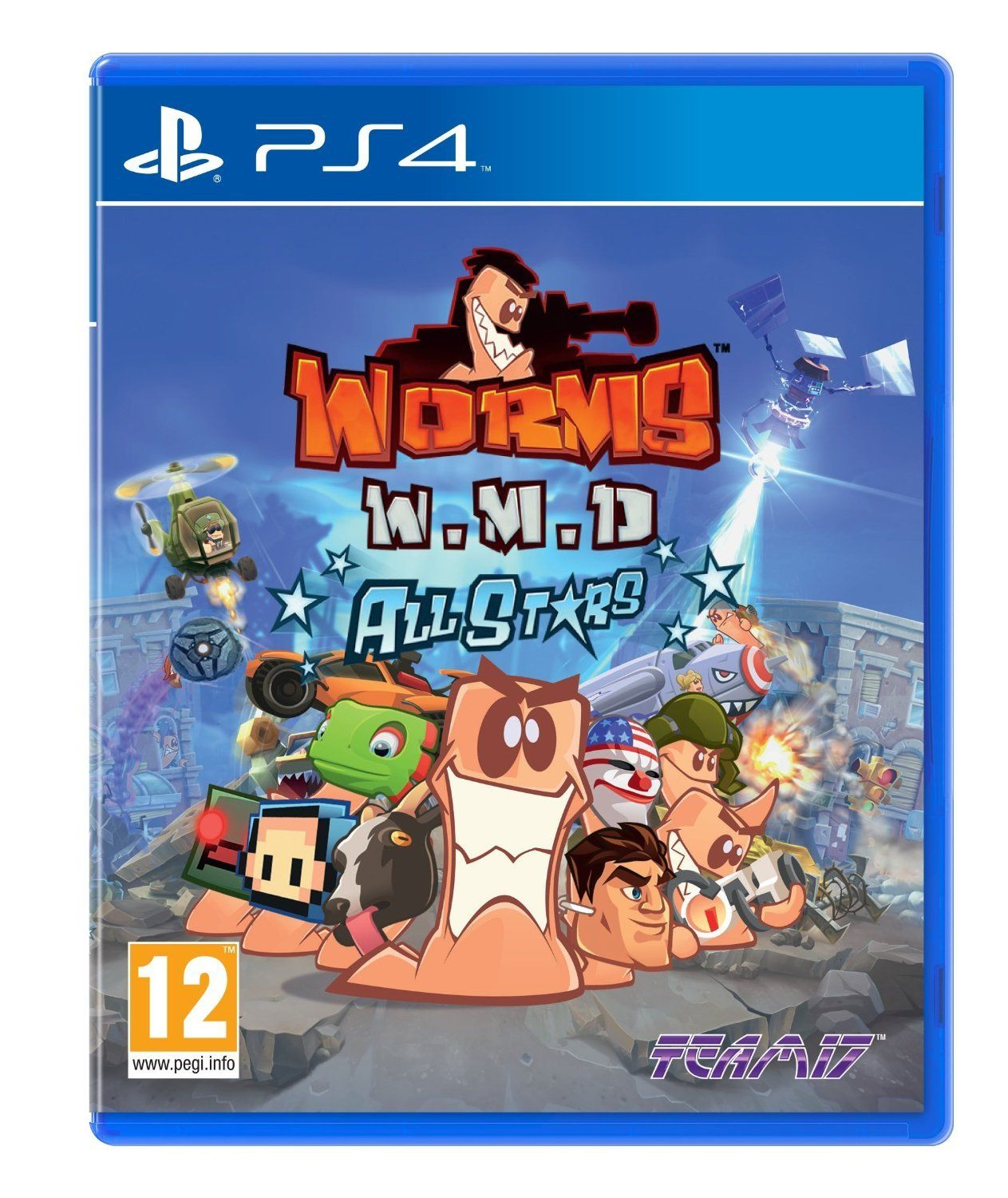 Worms WMD All Stars (PS4)