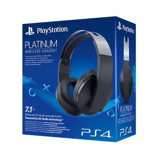 PlayStation 4 Platinum Wireless Headset (PS4)