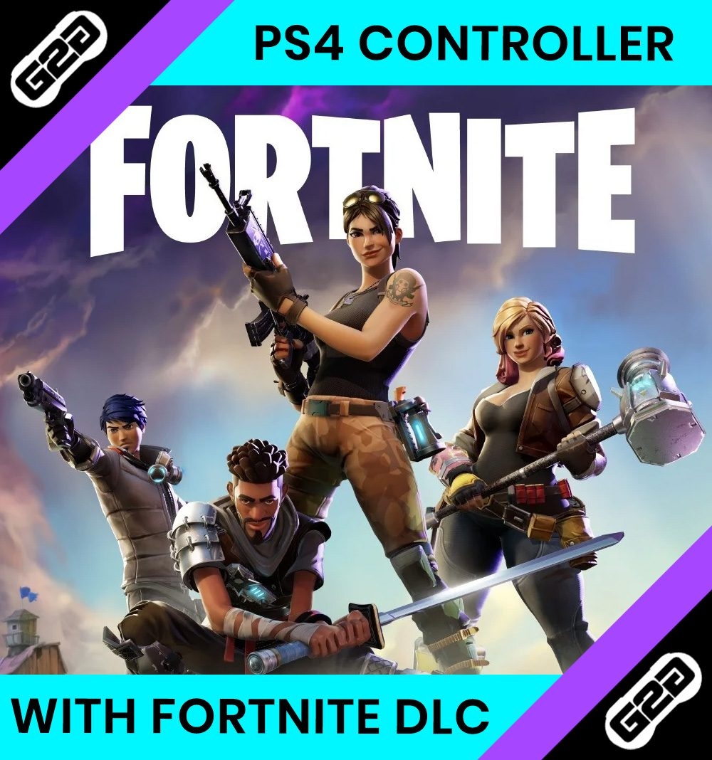 Fortnite PS4 Dualshock Controller